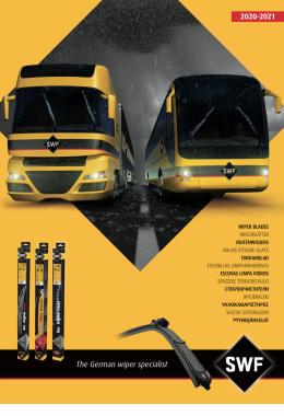 Katalog stěračů - užitkové vozy