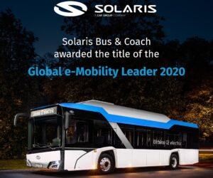 "Solaris obdržel ocenění ""Global e-Mobility Leader"""