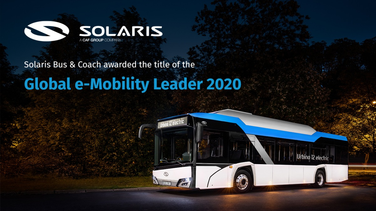Solaris Global e-Mobility Leader