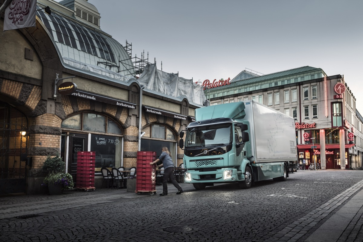 Těžká nákladní vozidla Volvo na elektrický pohon