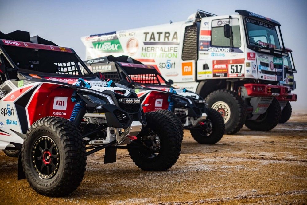 Tatra Buggyra Racing na Dakaru