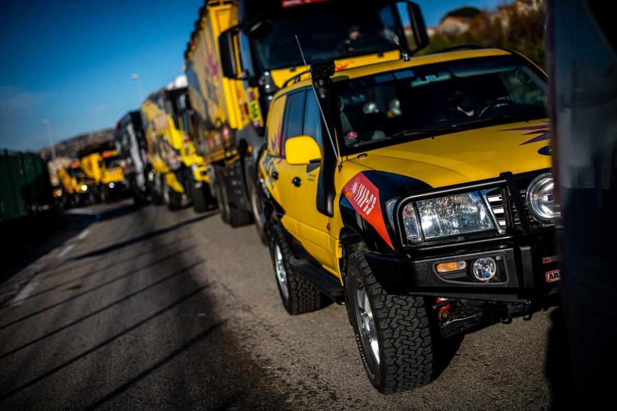 Přípravy na Dakar 2021