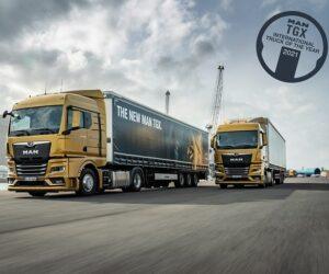 MAN TGX získal titul International Truck of the Year 2021