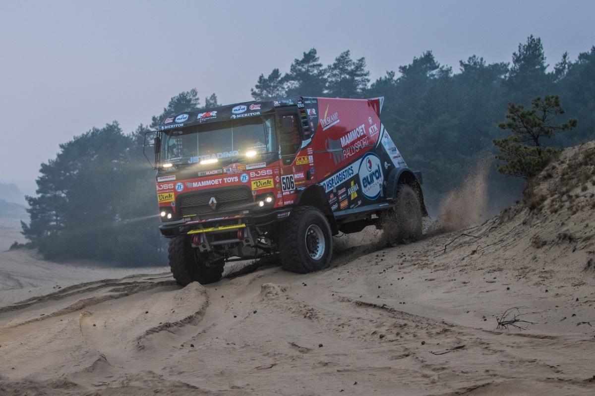 MKR Technology na rallye Dakar