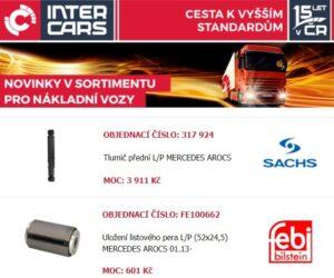 Nová rozšíření v nabídce firmy Inter Cars