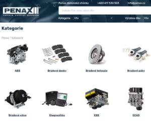 Penax představuje nový web a online katalog