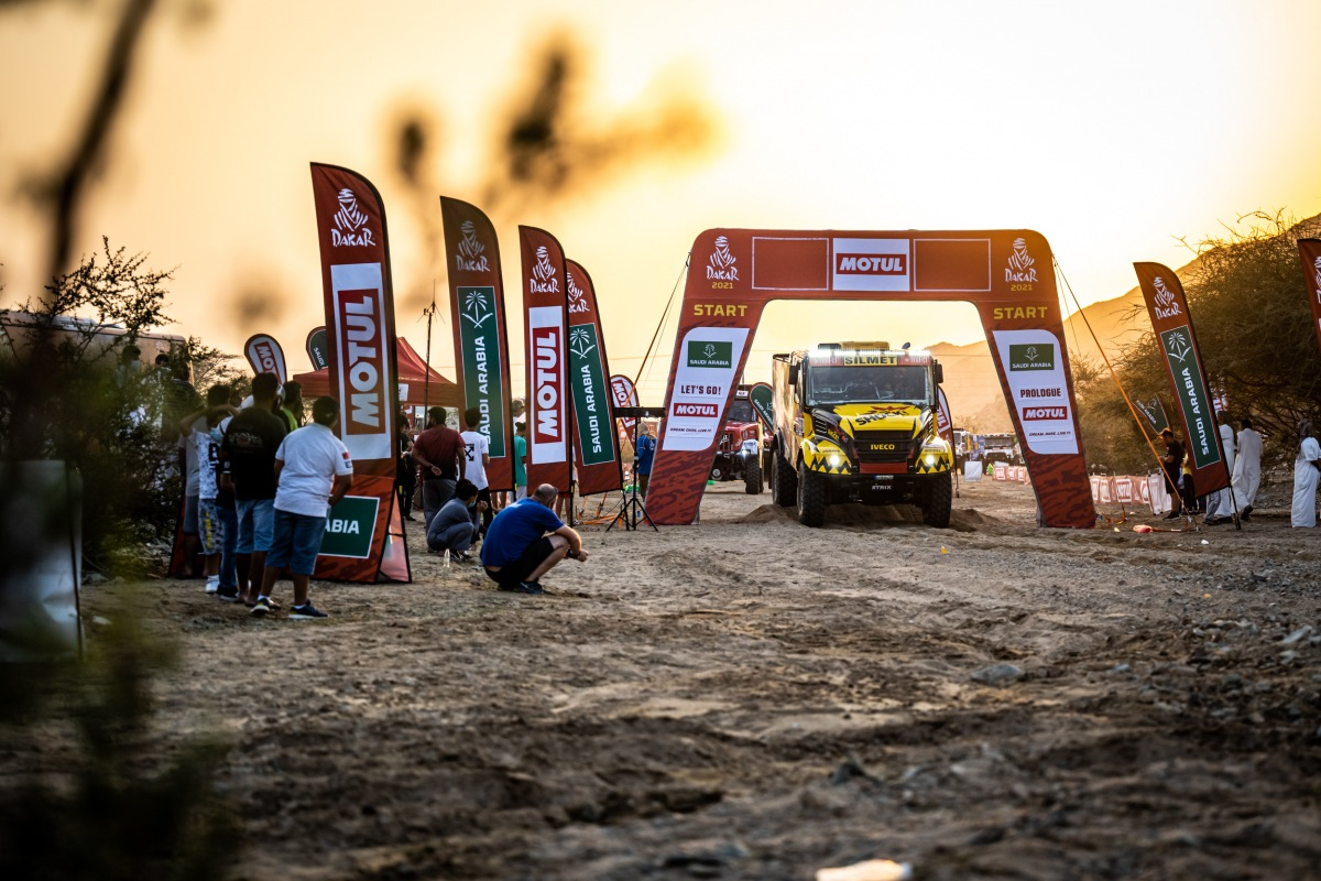 Big Shock Racing tým na Dakar 2021