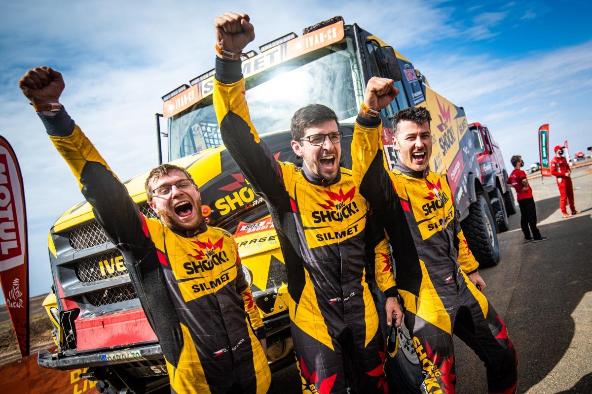 Big Shock Racing na Dakar 2021
