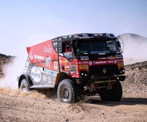 Kamiony MKR uzavřely Dakar v elitní desítce