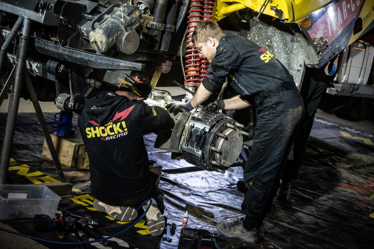 Opravy na Dakar 2021