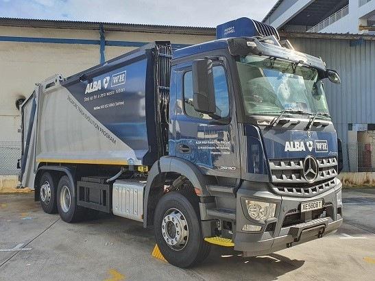 svozový vůz ALBA s filtrem jemných prachových částic MANN+HUMMEL PureAir
