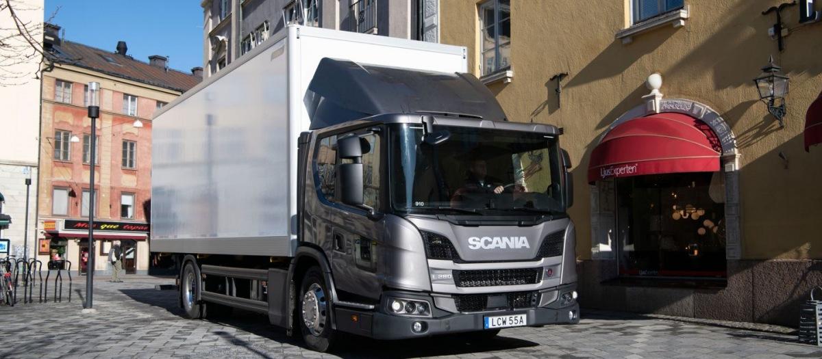 Vozidlo Scania