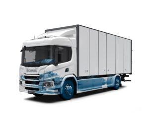 Závazek, který si společnost Scania stanovila v oblasti elektrických vozidel