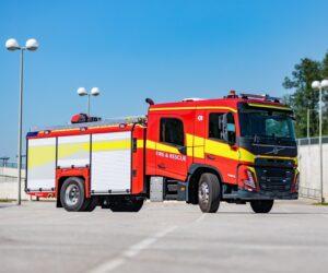 Představení nových modelů Volvo FM a FMX s kabinou pro posádku