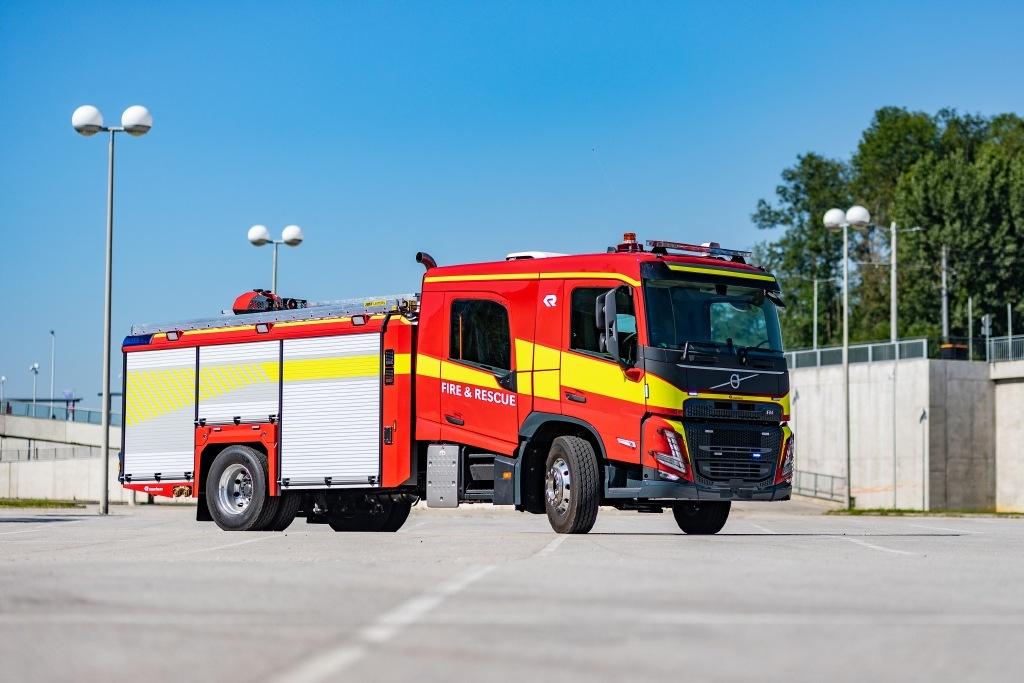 Nový model Volvo pro hasiče