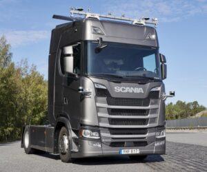 Scania testuje autonomní nákladní vozidla v dálničním provozu