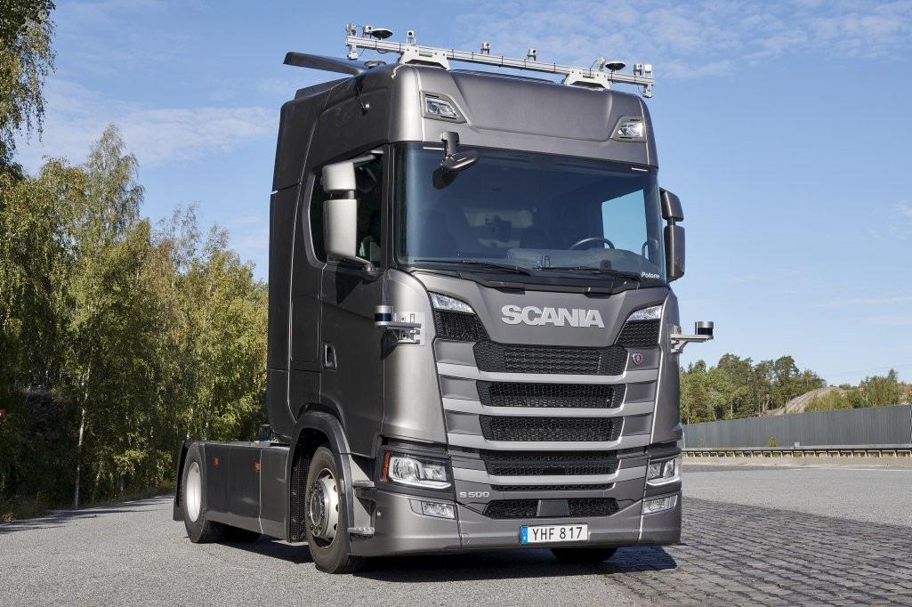 SCANIA autonomní nákladní vůz
