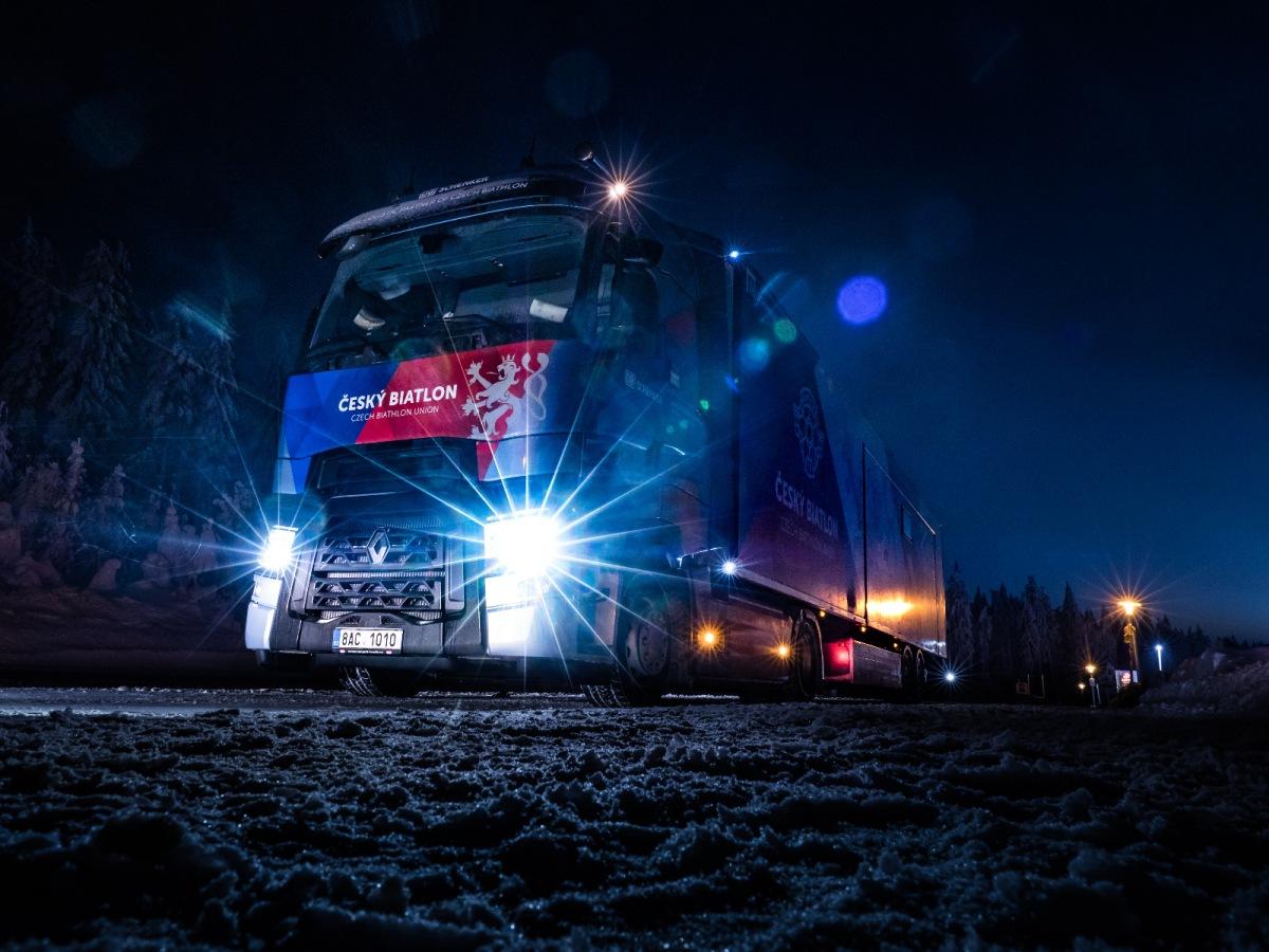 Renault Trucks T 480 český biatlon