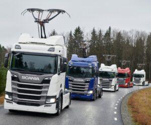 Dalších 7 vozidel Scania pro elektrifikované dálnice