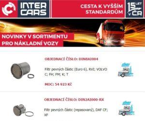 Novinky týdne firmy Inter Cars