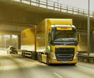 Společnosti DHL Freight a Volvo Trucks spolupracují na bezfosilní dálkové přepravě