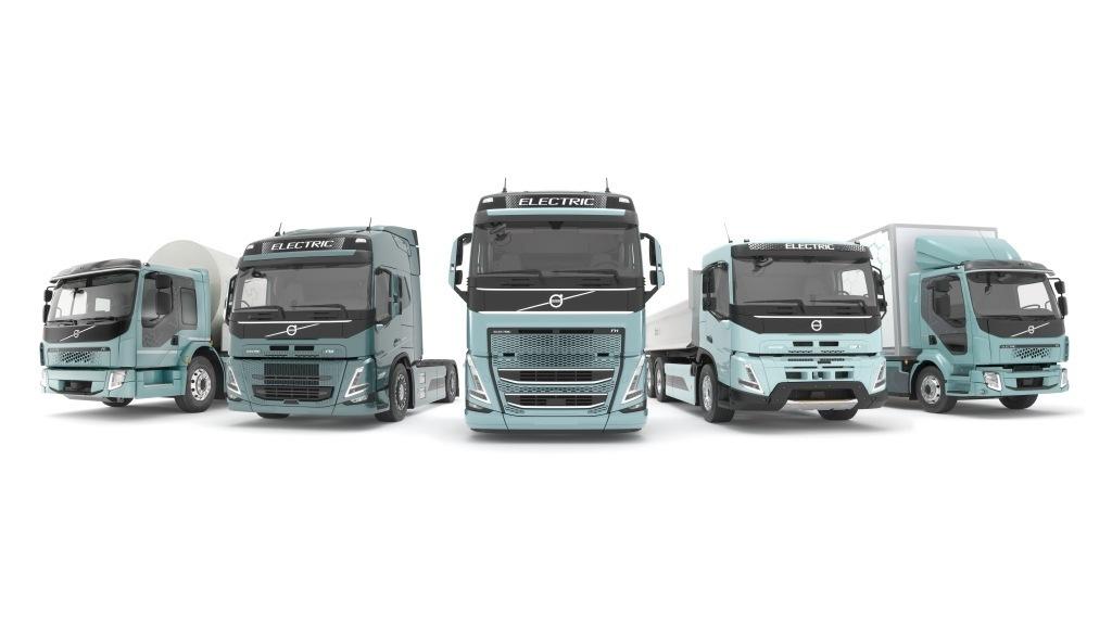 Řada elektrických vozidel Volvo, foto: Volvo Trucks