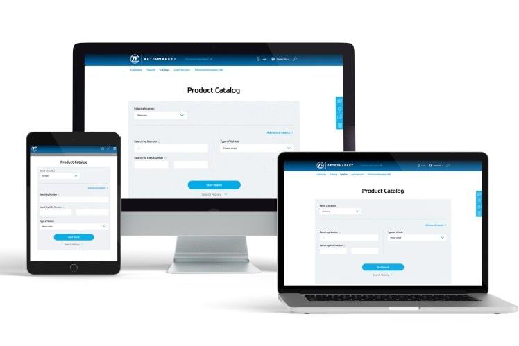 ZF Aftermarket webový portál