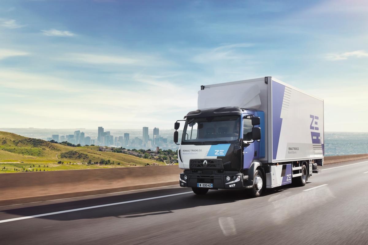 Elektrický Renault Trucks