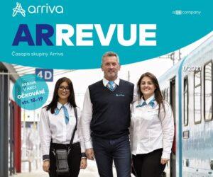 Časopis ArRevue společnosti Arriva 1/2021