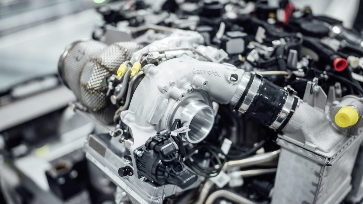 Přeplňovaný turbo motor Special Turbo