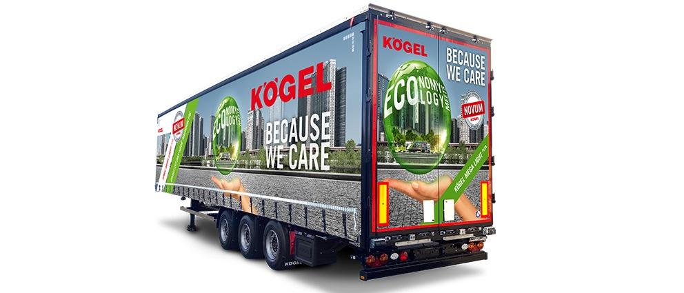 Nový návěs Kögel Mega Lightplus