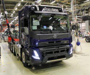 Byla zahájena sériová výroba nové generace těžkých nákladních vozidel Volvo Trucks