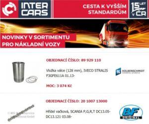 Inter Cars novinky dalšího týdne