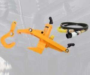 Novinka FERDUS: Hydraulický srážeč patek pro nákladní auta, zemědělské a EM stroje