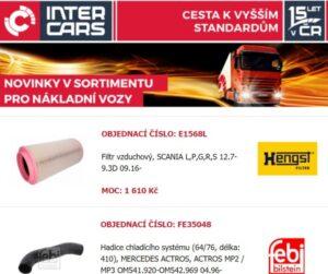 Novinky v Inter Cars nabídce