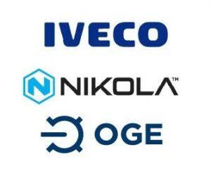Nikola, IVECO a OGE chtějí urychlit výstavbu infrastruktury pro tankování vodíku