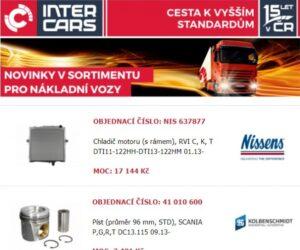 Inter Cars novinky v sortimentu
