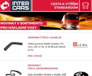 Novinky v nabídce Inter Cars