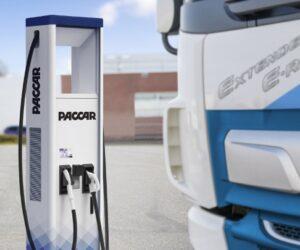 Společnost DAF představuje nabíjecí stanice pro elektrická vozidla