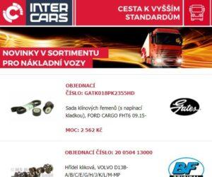 Nové produkty v nabídce Inter Cars