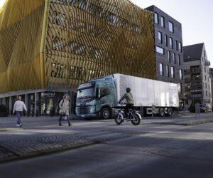 Volvo Trucks přidává svým elektrickým nákladním vozidlům zvukový bezpečnostní systém