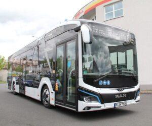 MAN poprvé v Česku představil plně elektrické Lion´s City E s obřími bateriemi a bezkonkurenčním dojezdem
