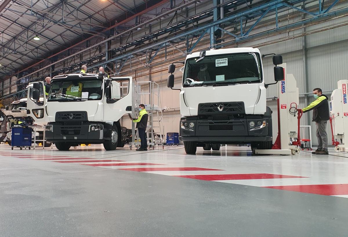 Renault Trucks adaptační centrum v Blainville-sur-Orne