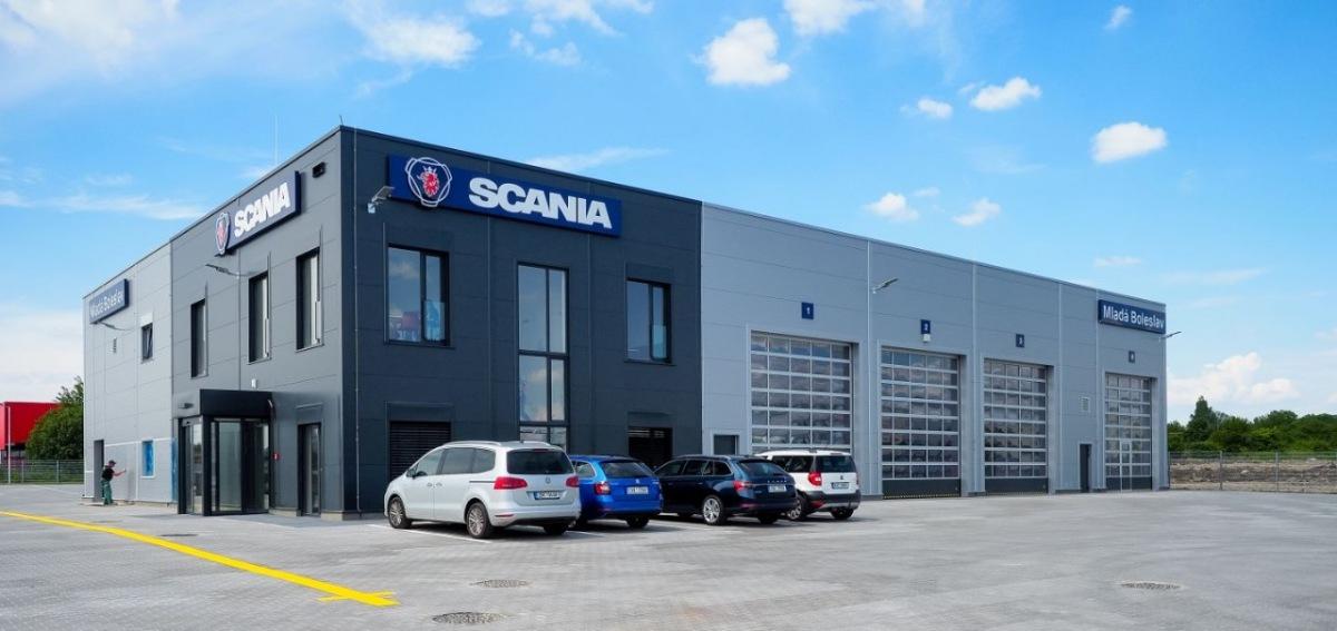 Scania servis Mladá Boleslav