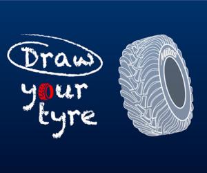 Mitas představuje soutěž Draw your tyre