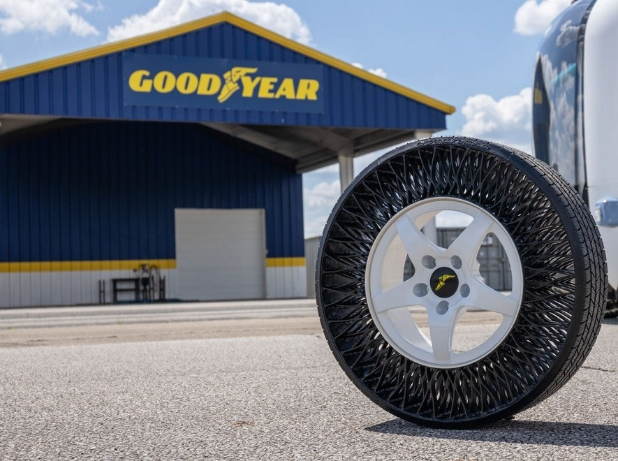 bezdušové pneumatiky Goodyear