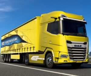 Řiďte online novou generaci vozidel DAF XG a XG⁺