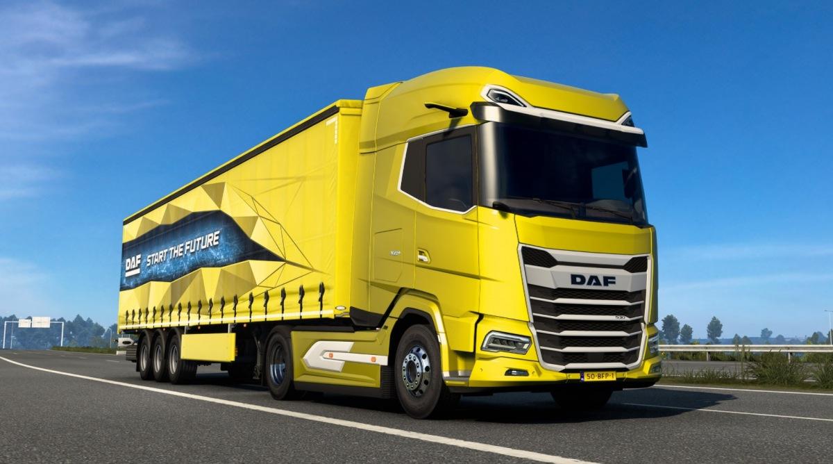 DAF v Euro Truck Simulator 2