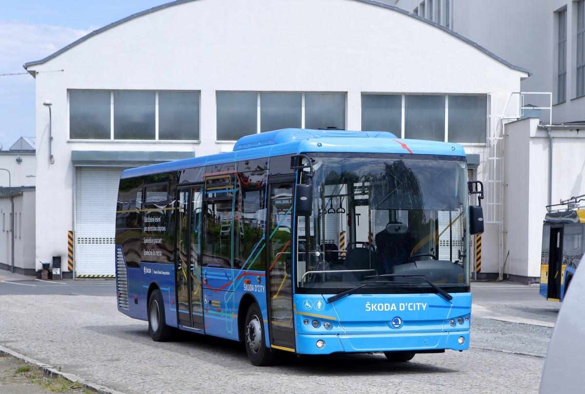 dieselový autobus Škoda D'CITY