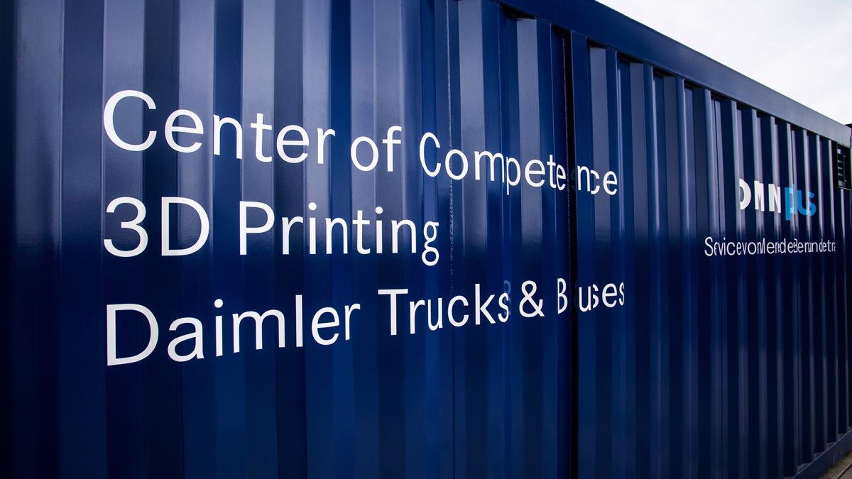 3D tisk od Daimler Buses